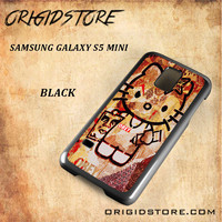 Obey Hello Kitty For Samsung Galaxy S5 Mini Snap On and 3D Case