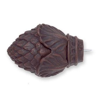 Kirsch Wrought Iron Pine Cone Finial
