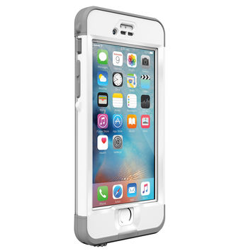 Lifeproof ND SERIES iPhone 6s ONLY Waterproof Case - Retail Packaging - AVALANCHE (BRIGHT WHITE/COOL GREY) Avalanche (Bright White/COOL Gray)