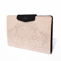 Mirella Leather Portfolio Clutch | Artessorio