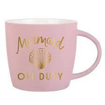 Mermaid Off Duty Mug By Slant