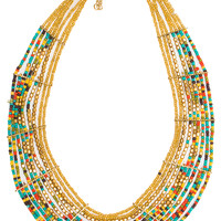 Lisa Beaded Necklace - One Size / Multi