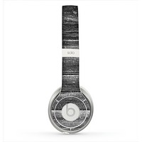 The Black Planks of Wood Skin for the Beats by Dre Solo 2 Headphones