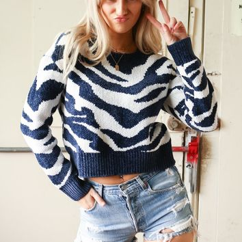 MINKPINK A Wild Winter Jumper