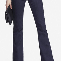 mid rise flare denim pant from EXPRESS