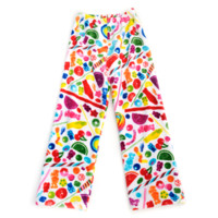 Dylan's Candy Bar Fuzzy Candy Spill Pants - Women | Dylan's Candy Bar