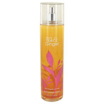 White Tea and Ginger by Bath & Body Works Body Mist Spray Infused with Real White Tea and Ginger Extracts 8 oz (Women)