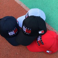 Tommy Pure cotton baseball cap