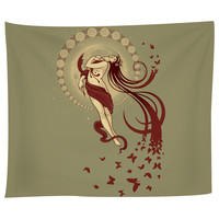 Madame Butterfly Tapestry