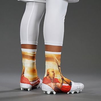 Ancient Spartan Spats / Cleat Covers