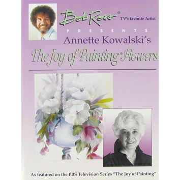 Bob Ross The Joy of Painting Flowers Book | Hobby Lobby