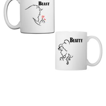 Beast And Beauty - Couple Coffee/Tea Mug