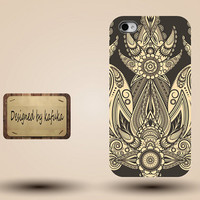 iphone case, i phone 4 4s 5 5s case, iphone4 iphone4s iphone5 case, plastic rubber silicone cases cover,yellow floral pattern p1145