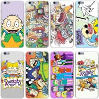 Rugrats Hard Transparent Cover Case for iPhone 7 7 Plus 6 6S Plus 5 5S SE 5C 4 4S