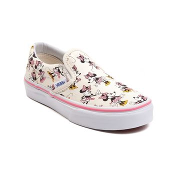 Youth Disney x Vans Minnie Slip-On Skate Shoe