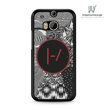 twenty one pilots blurryface patterns For HTC One M7 M8 | M9 Case