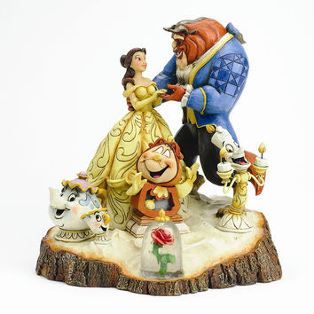 Disney Traditions Carved by Heart Beauty Figurine