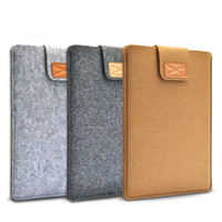 "Hot Felt Laptop Liner Sleeve Bag Notebook Case Computer Bag Smart Cover for 11"" 13"" 15"" Macbook Air Pro Retina"