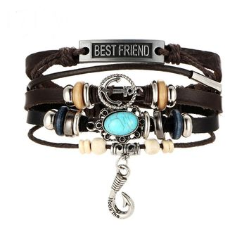 Bijoux Best Friend Anchor Bracelet