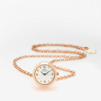 Urban Outfitters - La Mer Rosegold Watch Ring Necklace