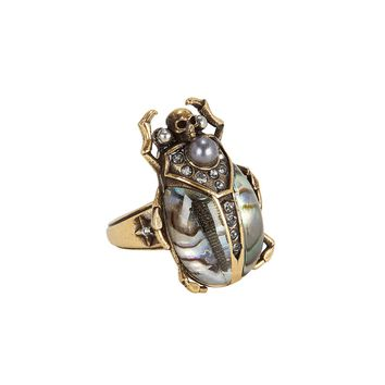 Beetle Metallic Ring