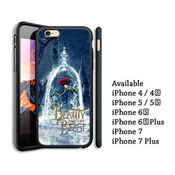 The Enchanted Rose Beauty and the Beast Print On Case Cover For iPhone 6s+ 7/7+