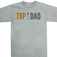 Top Dad-Unisex Dark Ash T-Shirt
