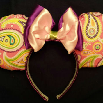 Perfectly Paisley Mouse Ears