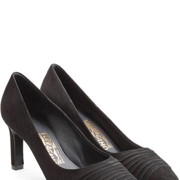 Salvatore Ferragamo - Suede Pumps
