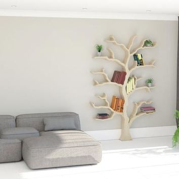 NEW PRODUCT | The Cotswold Elm Tree Bookcase | Tree Shelf | Tree Bookshelf | Tree Shaped Book Shelf | Made in the UK