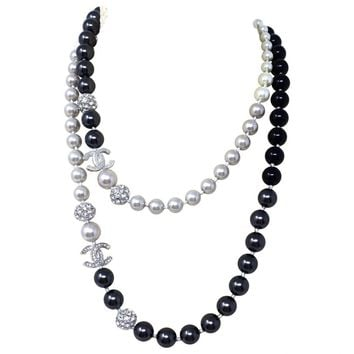 Necklace CHANEL White