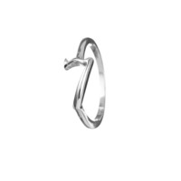Code Sterling Silver #7 Ring