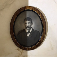 Oval Framed Portrait of a Gentleman