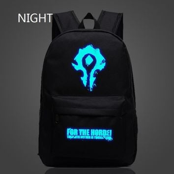 Wow World of Warcraft Horde Backpacks