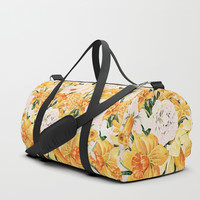Wordsworth and the daffodils. Duffle Bag by anipani
