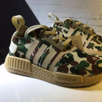 """ADIDAS"" Trending Fashion Casual Sports Shoes Camouflage"