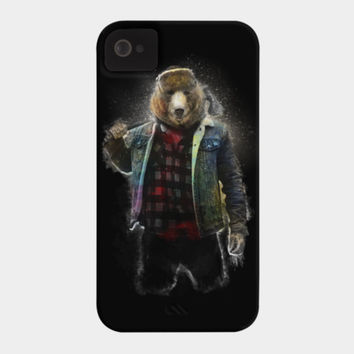 Blizzard Bear Phone Case By Daniacdg Design By Humans