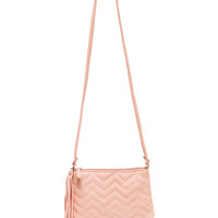 Brielle Chevron Purse - Pink