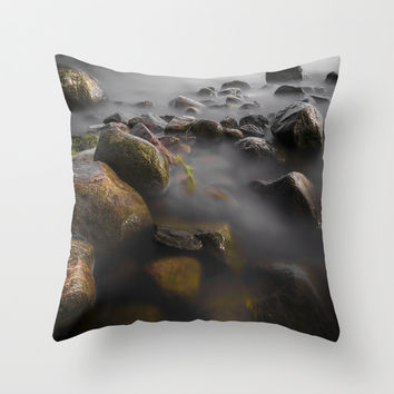 Fungus Throw Pillow by HappyMelvin