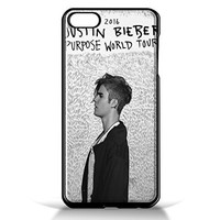 Justin Bieber's 'Purpose world tour for iPhone 6/6s Black case