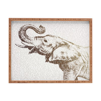 Belle13 The Wisest Elephant Rectangular Tray