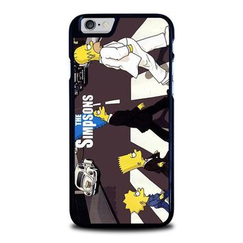 the simpsons iphone 6 6s case cover  number 1