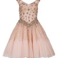 CASTIEL - Embellished lace dress -