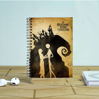 Tim Burton NIghtmare Before Christmas Photo Notebook Auroid