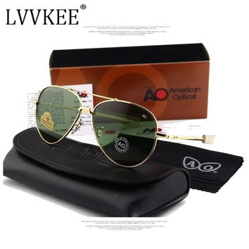 f536aaa373 Classic Army MILITARY AO Sunglasses American Optical Glass Lens