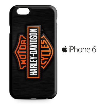 Motor Harley Davidson Logo iPhone 6 Case