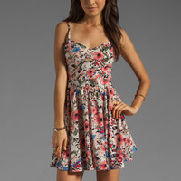 Lucca Couture Floral Tank Dress in Ivory/Rose from REVOLVEclothing.com
