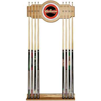 Budweiser Red-Black Billiard Cue Rack