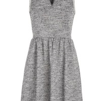dress in french terry fabric