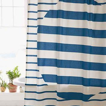 Alba Stripe Shower Curtain